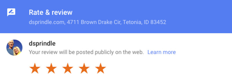 negative google reviews